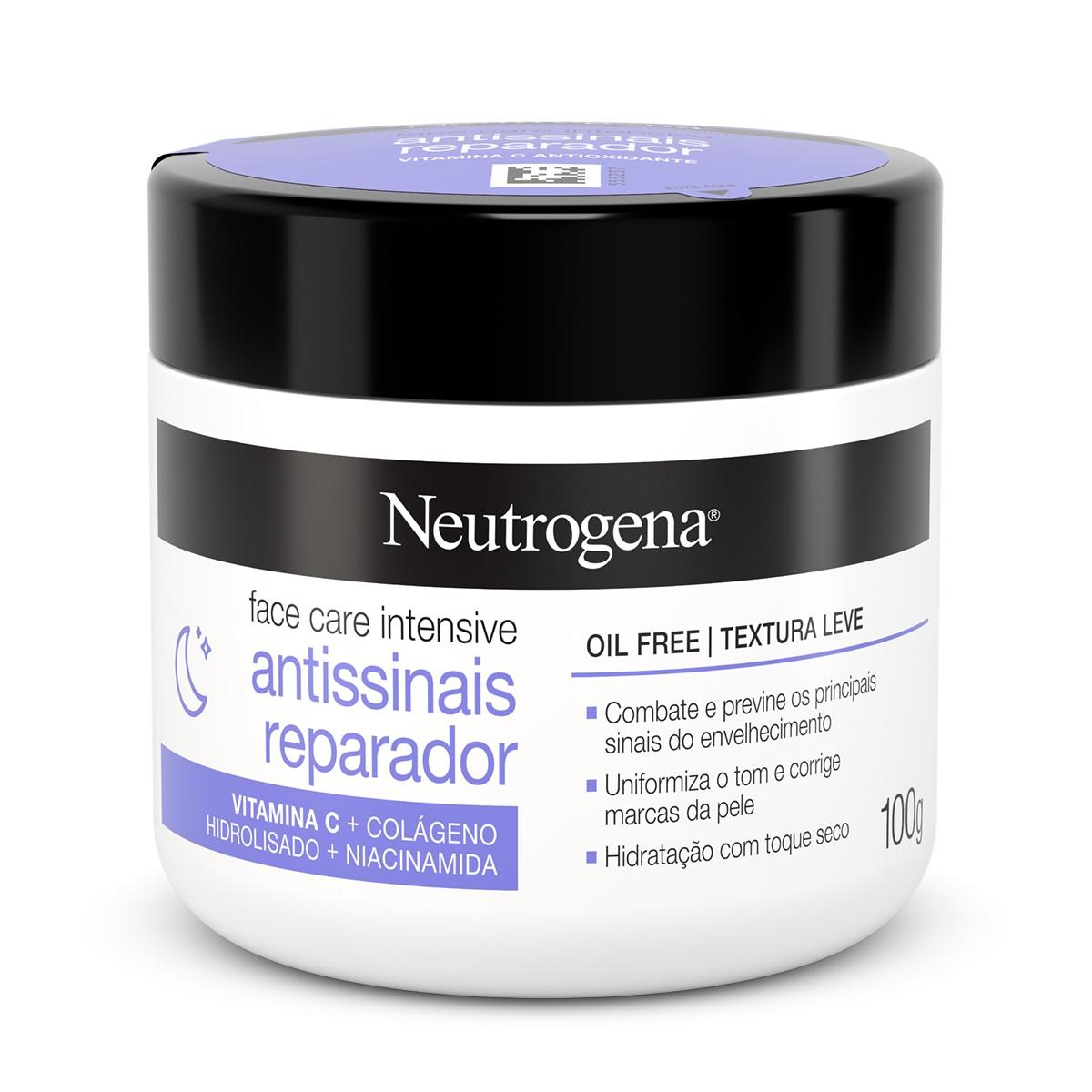 NEUTROGENA® Face Care Intensive Antissinais Reparador