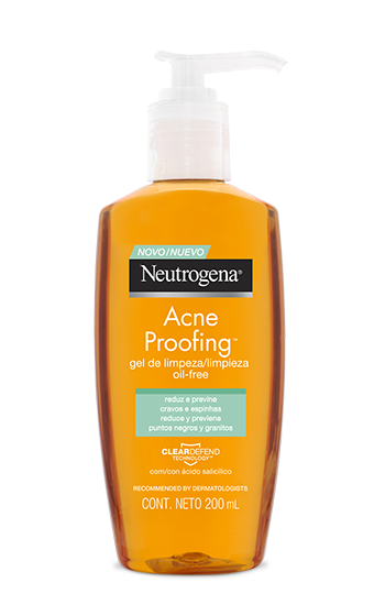 Gel de Limpeza NEUTROGENA ACNE PROOFING®