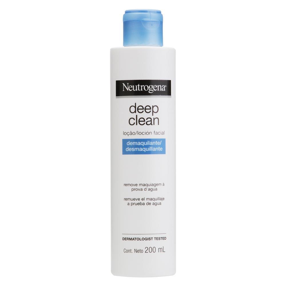 NEUTROGENA DEEP CLEAN® Loção Demaquilante