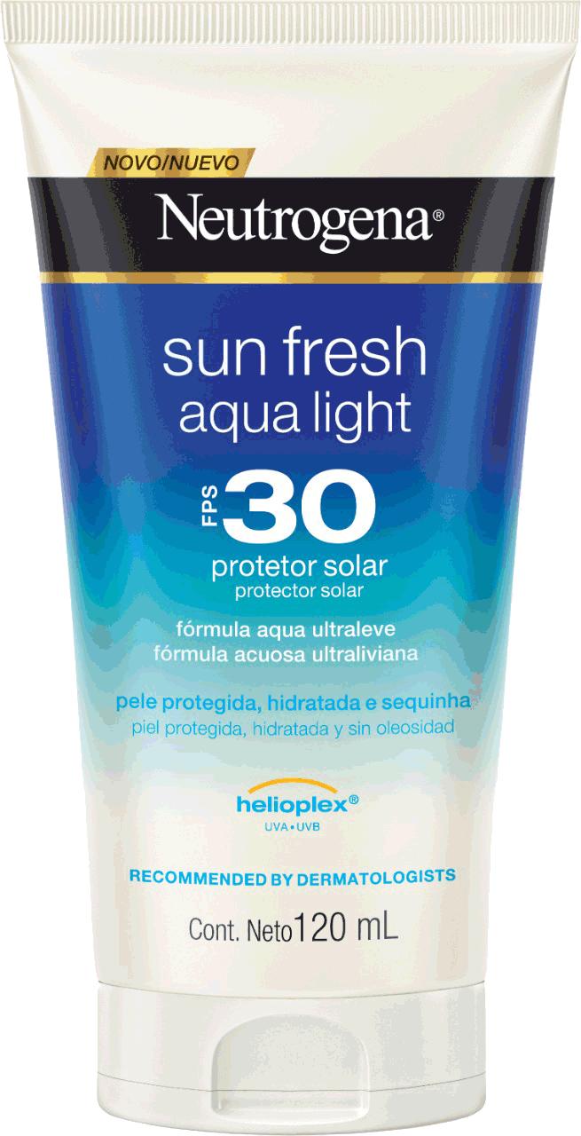 NEUTROGENA Sun Fresh® Aqualight Protetor Solar FPS 30