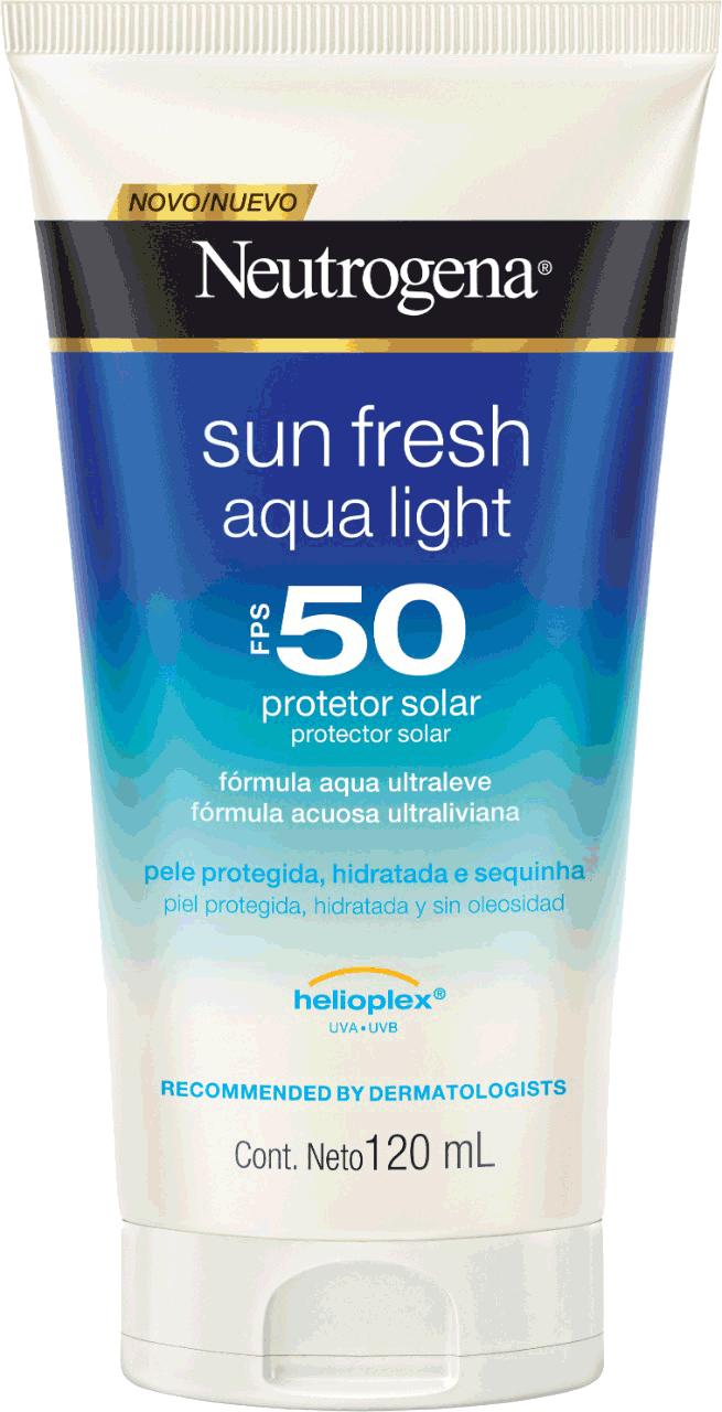 NEUTROGENA Sun Fresh® Aqualight Protetor Solar FPS 50