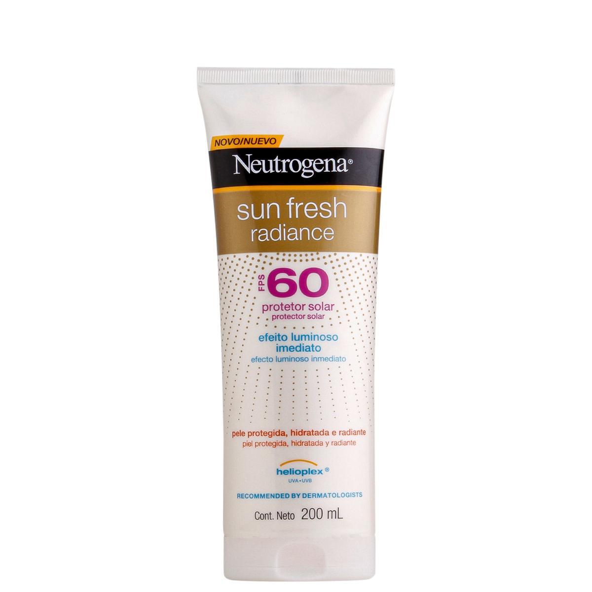NEUTROGENA Sun Fresh® Protetor Solar Radiance FPS 60
