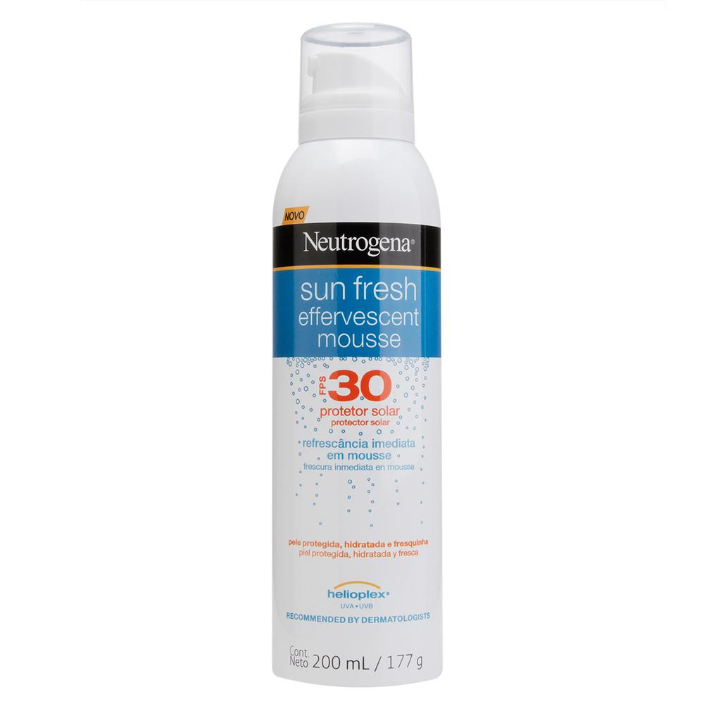 NEUTROGENA Sun Fresh® Mousse Efervescente FPS 30