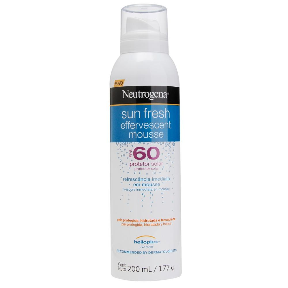 NEUTROGENA Sun Fresh® Mousse Efervescente FPS 60