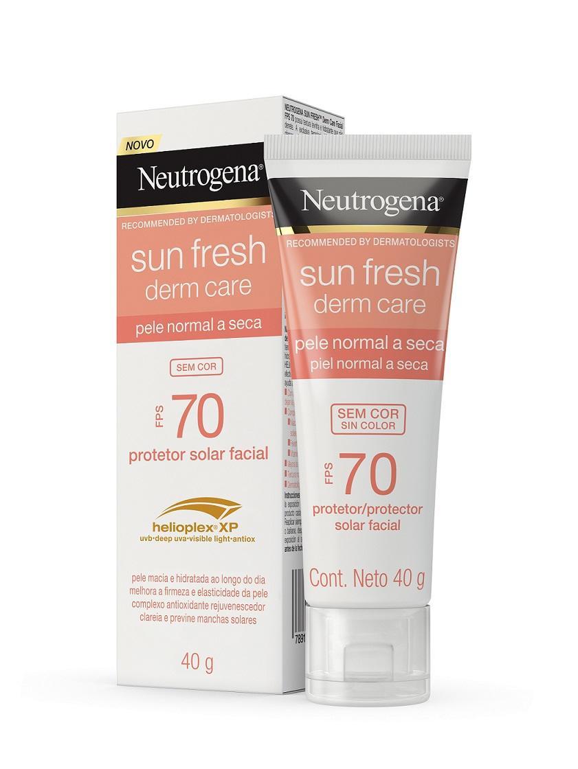 NEUTROGENA SUN FRESH® Dry Skin Sem Cor FPS 70
