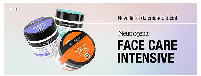 Nova linha de cuidado facial Neutrogena Face Care Intensive