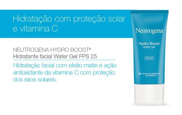 Hidratação com proteção solar e vitamina C
