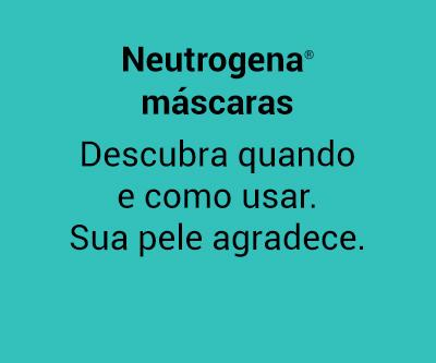 Beleza na Web - Neutrogena máscaras