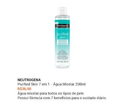 Neutrogena - Purified Skin 7 em 1 - Água Micelar