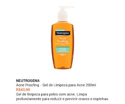 Neutrogena - Acne Proofing - Gel de Limpeza para Acne