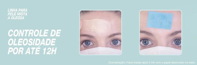 Neutrogena Derm Care com controle de oleosidade por até 12 horas
