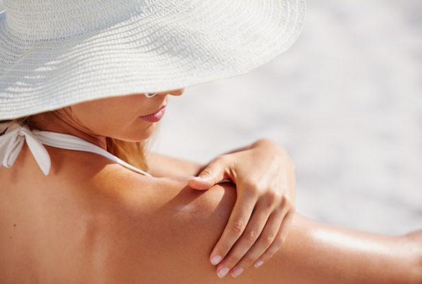 Proteção solar para manter a pele saudável.