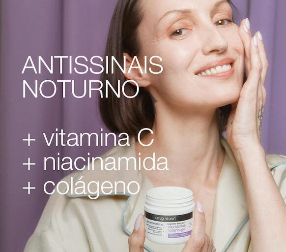 Antissinais Noturno +vitamina C +niacinamida +colágeno