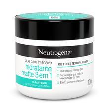 NEUTROGENA® Face Care Intensive Hidratante Matte 3 em 1