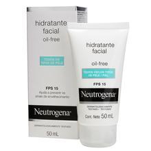 NEUTROGENA® Oil Free Gel Creme Hidratante FPS 15