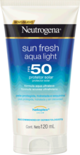 NEUTROGENA Sun Fresh® Aqualight Protetor Solar FPS 50